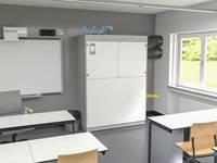 Dezentrales Lüftungsgerät für Schulen